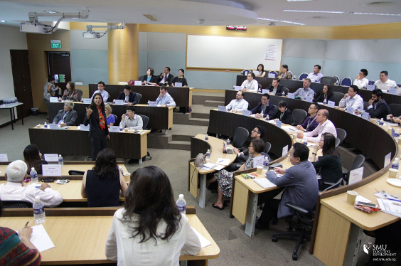 Developing Regional Banking Executives at UOB-SMU Leadership Academy