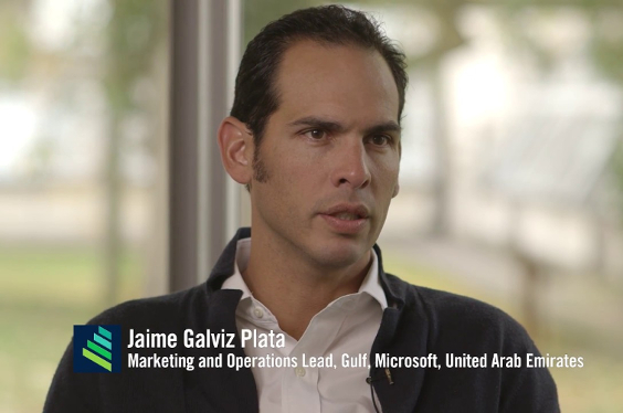 You Get To 'Cool Down' And Get Perspective At Work, Jaime Galviz, Microsoft